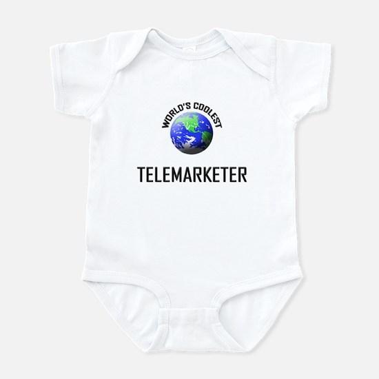 World's Coolest TELEMARKETER Infant Bodysuit