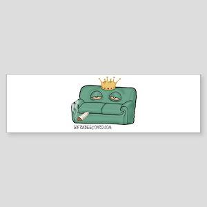 Sofa King Stoned Bumper Sticker