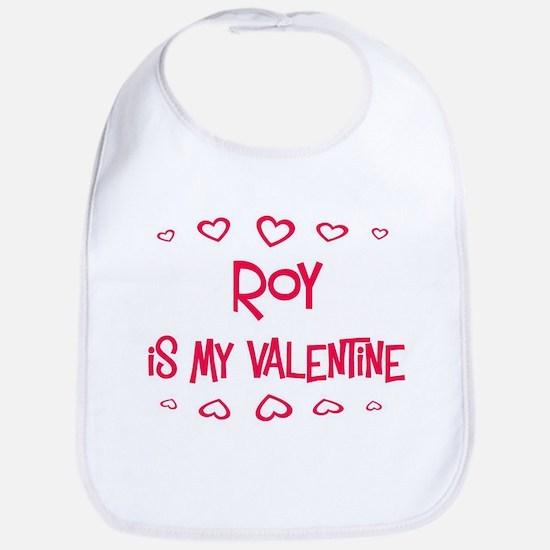 Roy is my valentine Bib