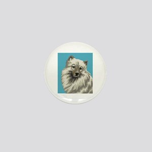 Keeshond Mini Button