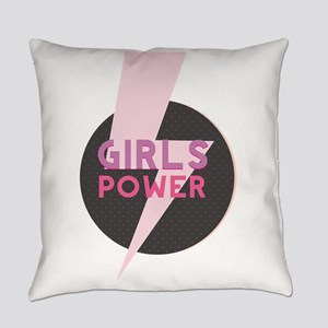 Girl power Everyday Pillow