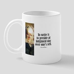 "Ibsen ""To Write"" Mug"