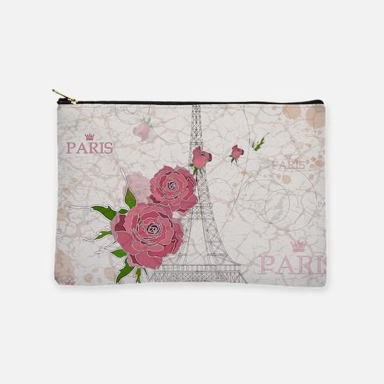 Vintage Paris Makeup Bag