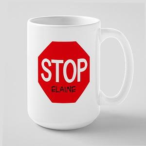 Stop Elaine Mugs