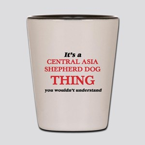 It's a Central Asia Shepherd Dog th Shot Glass