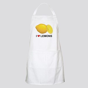 I Love Lemons BBQ Apron