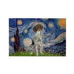 Starry Night /German Short Rectangle Magnet