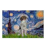 Starry Night /German Short Postcards (Package of 8