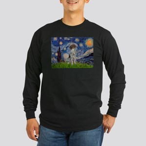 Starry Night /German Short Long Sleeve Dark T-Shir