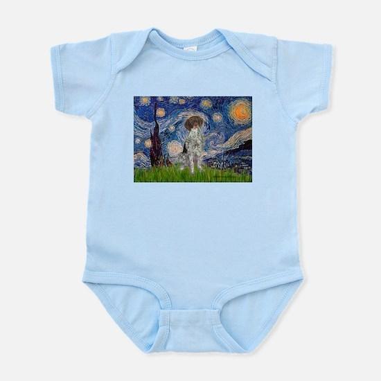 Starry Night /German Short Infant Bodysuit
