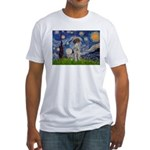 Starry Night /German Short Fitted T-Shirt