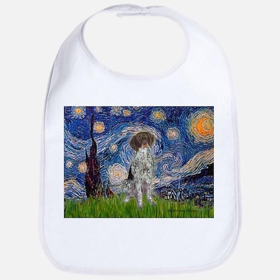 Starry Night /German Short Bib