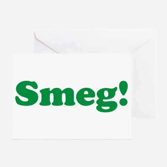 Smeg Greeting Card