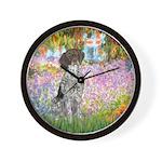 Garden/German Pointer Wall Clock