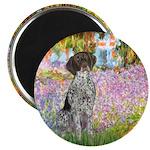 Garden/German Pointer Magnet