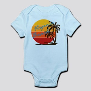 Summer virginia beach- virginia Body Suit