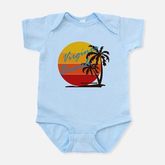 Summer virginia beach- virginia Body Suit