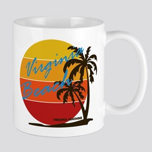 Summer virginia beach- virginia Mugs
