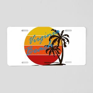 Summer virginia beach- virg Aluminum License Plate