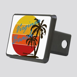 Summer virginia beach- vir Rectangular Hitch Cover