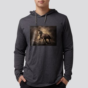Beautiful Brown Horse Long Sleeve T-Shirt