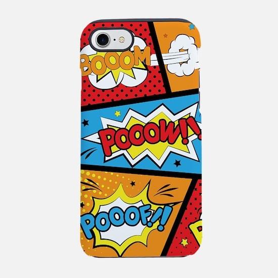 Comic Effects iPhone 8/7 Tough Case