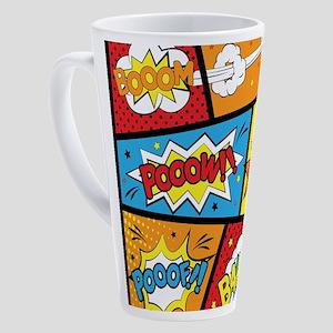 Comic Effects 17 oz Latte Mug