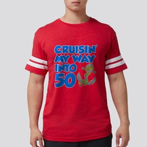Cruisin Way Into 50 T-Shirt