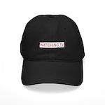Stop Watching TV Black Cap