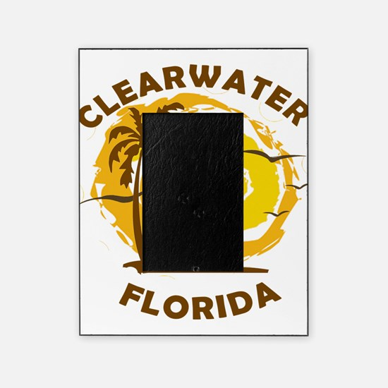 Summer clearwater- florida Picture Frame