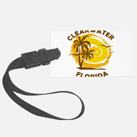 Summer clearwater- florida Luggage Tag
