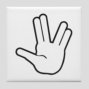 Live Long & Prosper - 1 Tile Coaster