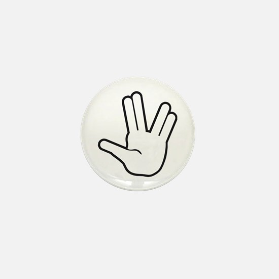 Live Long & Prosper - 1 Mini Button