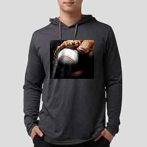 Baseball Ball And Mitt Long Sleeve T-Shirt