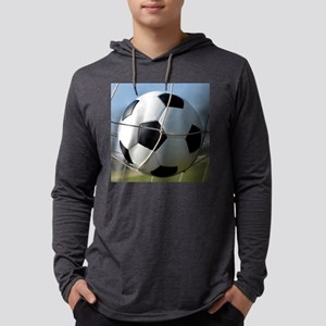 Football Ball In Net Long Sleeve T-Shirt