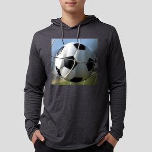 Football Ball In Net Long Sleeve T-Shirt