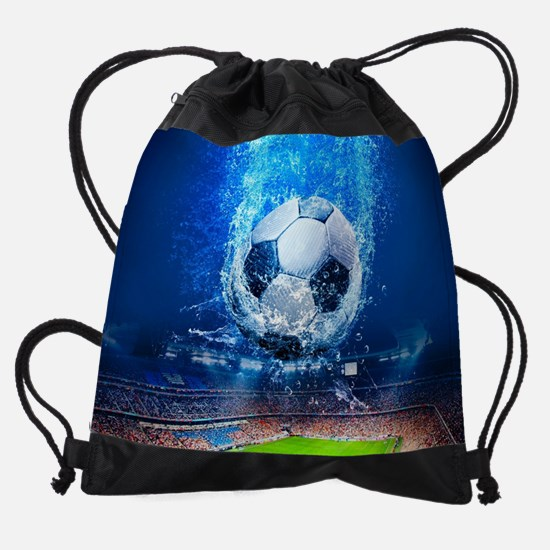 Ball Splash Over Stadium Drawstring Bag