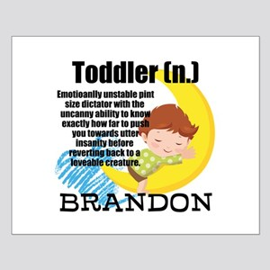 TODDLER HUMOR PERSONALIZE Posters