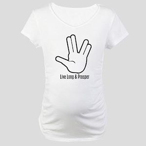 Live Long & Prosper - 2 Maternity T-Shirt