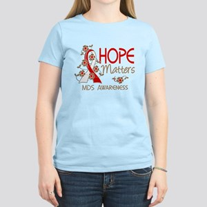 MDS Hope Matters 3 Women's Dark T-Shirt