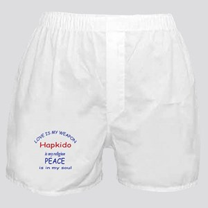 Hapkido is my Religion Boxer Shorts