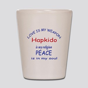 Hapkido is my Religion Shot Glass