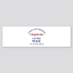 Hapkido is my Religion Sticker (Bumper)