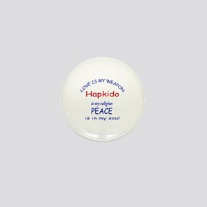 Hapkido is my Religion Mini Button