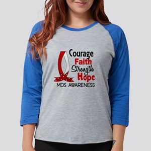 MDS Courage Faith 1 Long Sleeve T-Shirt