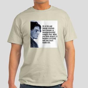 "Chekhov ""All of Life"" Light T-Shirt"