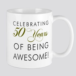 Celebrating 50 Years Pint Glass Mugs