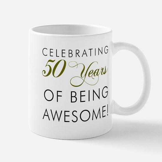 Celebrating 50 Years Pint Glass Mugs