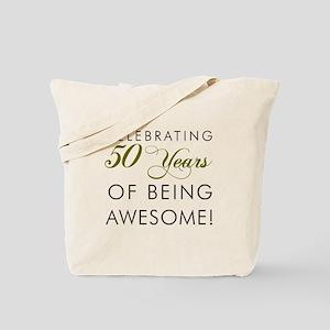 Celebrating 50 Years Pint Glass Tote Bag