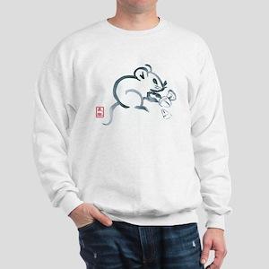 Baby Mouse with Corn Sweatshirt